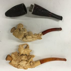Meerschaum Pipes And Tobacco Holder