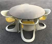 Original Casalino Chairs by Alexander Begge Set 4