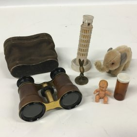 Misc. Collection: Opera Glasses, Elephant, Doll