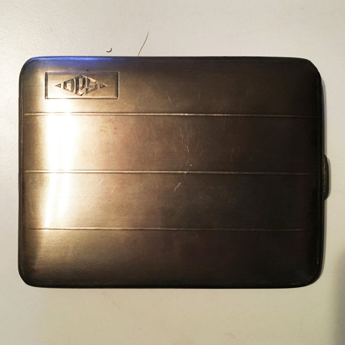 Sterling silver card or cigarette case - 3