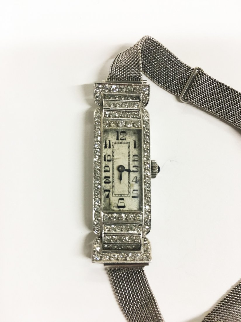 Ladies Diamond Watch in 750 White Gold - 2