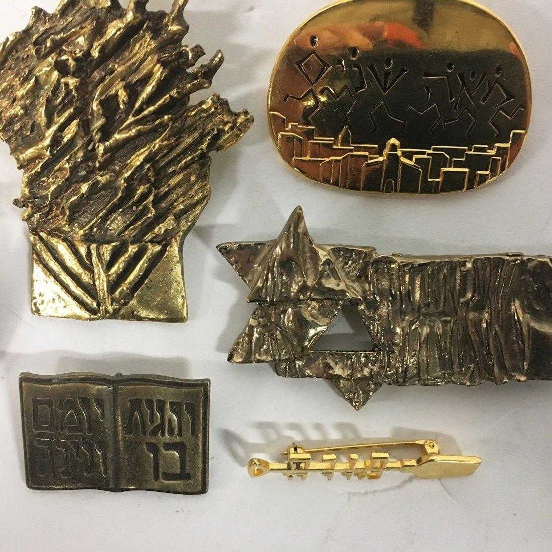 Jewish Org. Ceremonial Pins, Judaica - Rachel Gera - 4