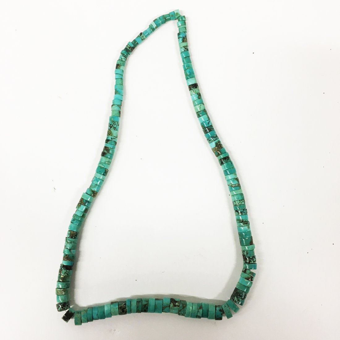 Turquoise and Sterling necklaces with gemstone accents - 7