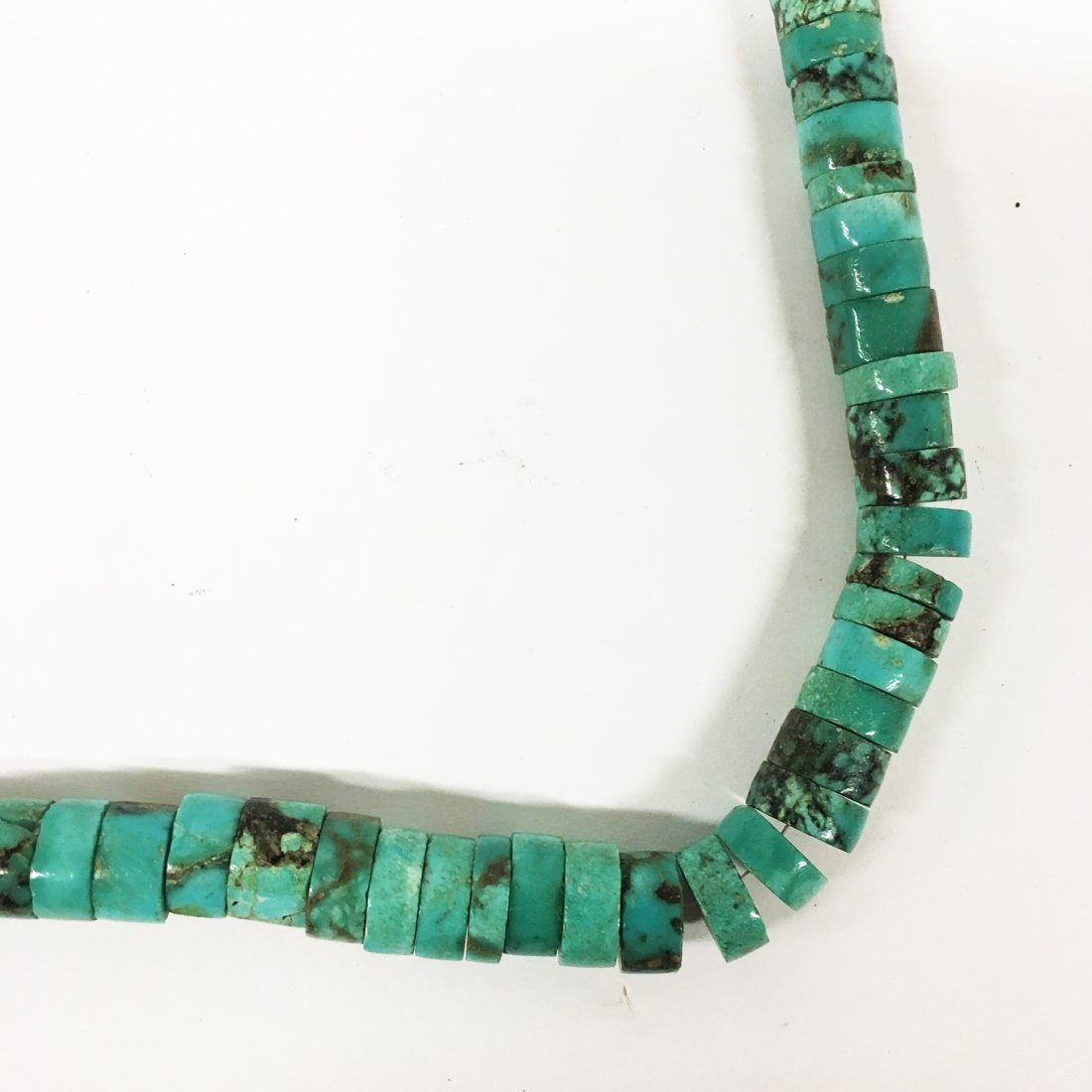 Turquoise and Sterling necklaces with gemstone accents - 8