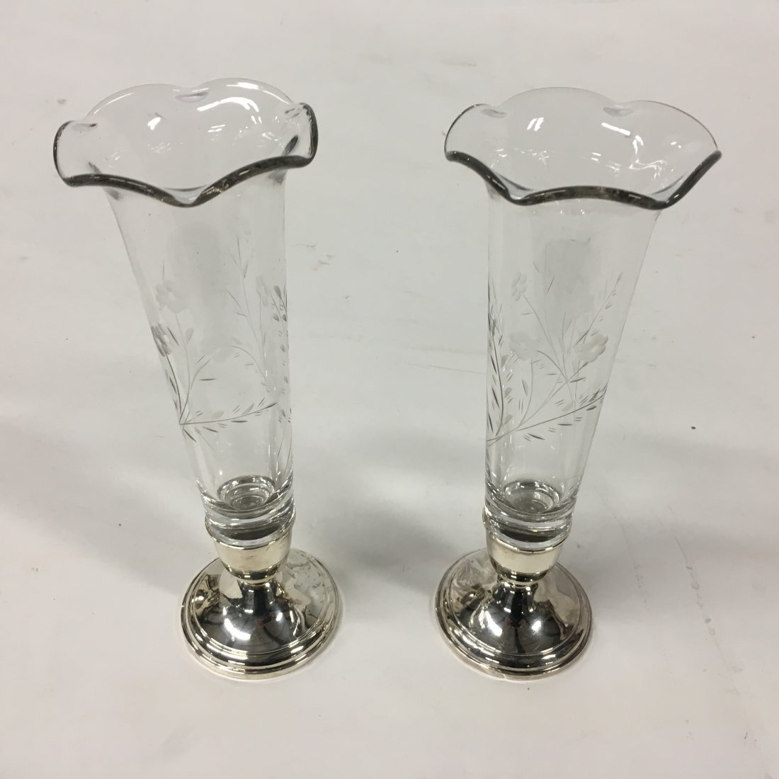 Frank Whiting Sterling Silver Candle holders