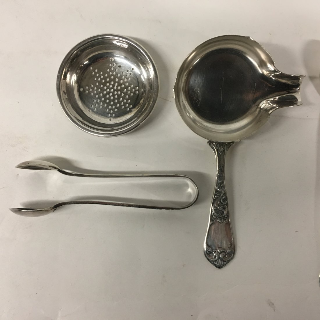 Six (6) Misc. Sterling Towle and Silver plate - 2