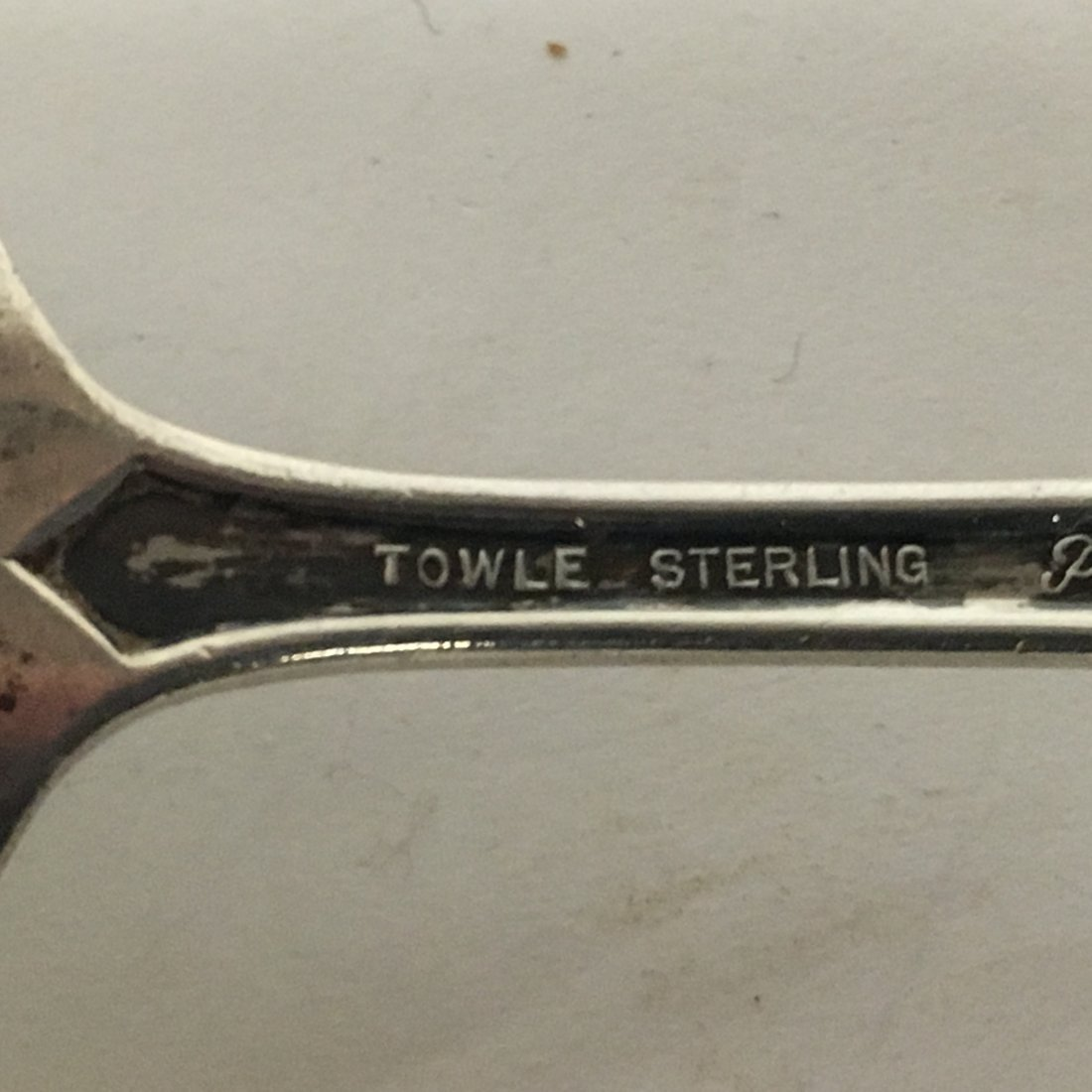 Six (6) Misc. Sterling Towle and Silver plate - 5