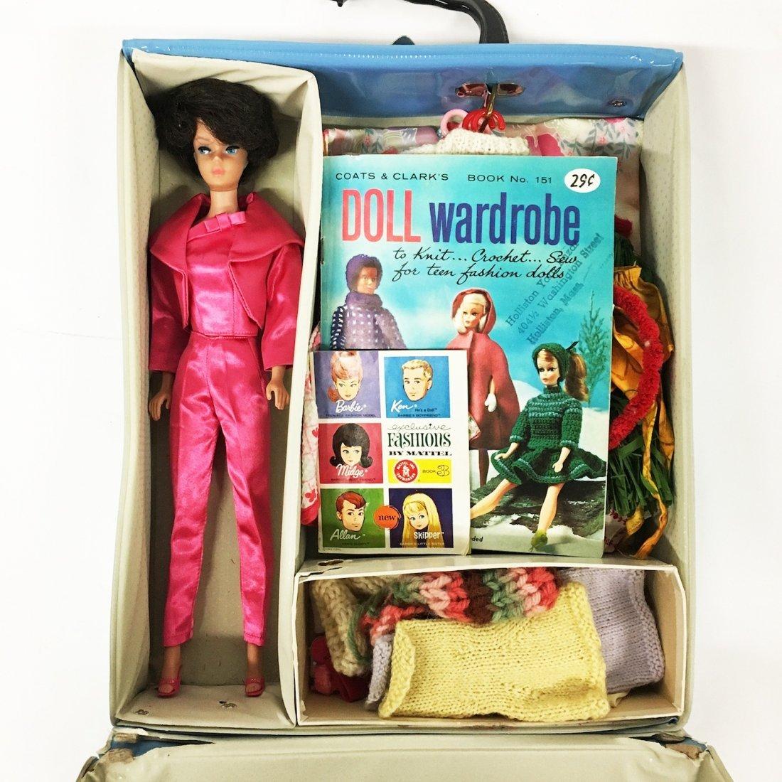 Vintage Bubble Cut Brunette Barbie Doll