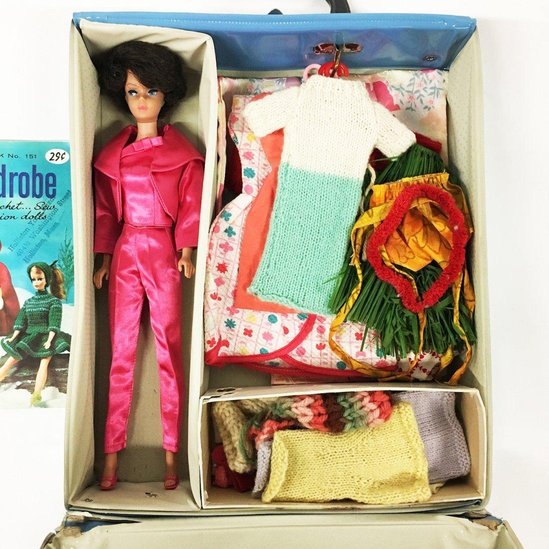 Vintage Bubble Cut Brunette Barbie Doll - 3