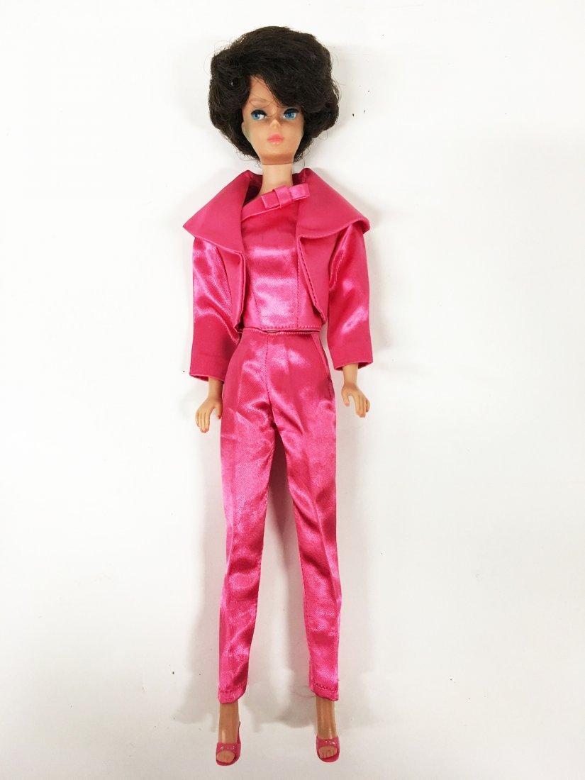 Vintage Bubble Cut Brunette Barbie Doll - 5