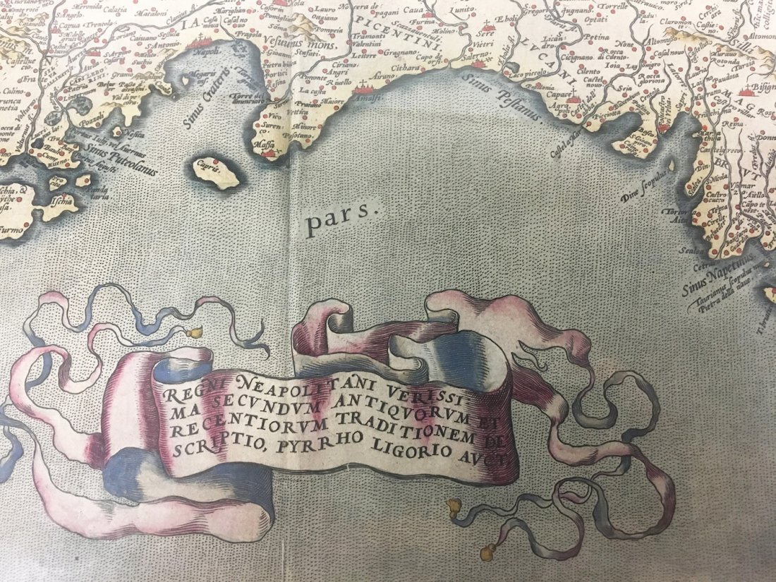 Antiquarian Map - Italy - 2