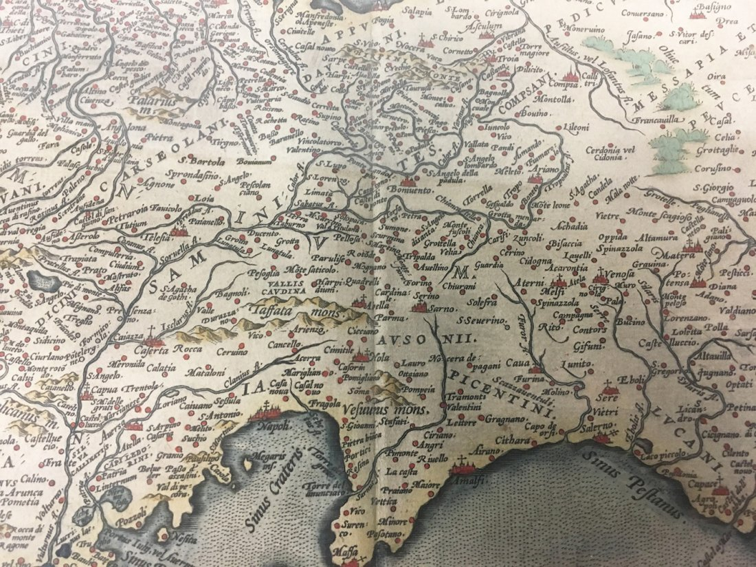 Antiquarian Map - Italy - 3
