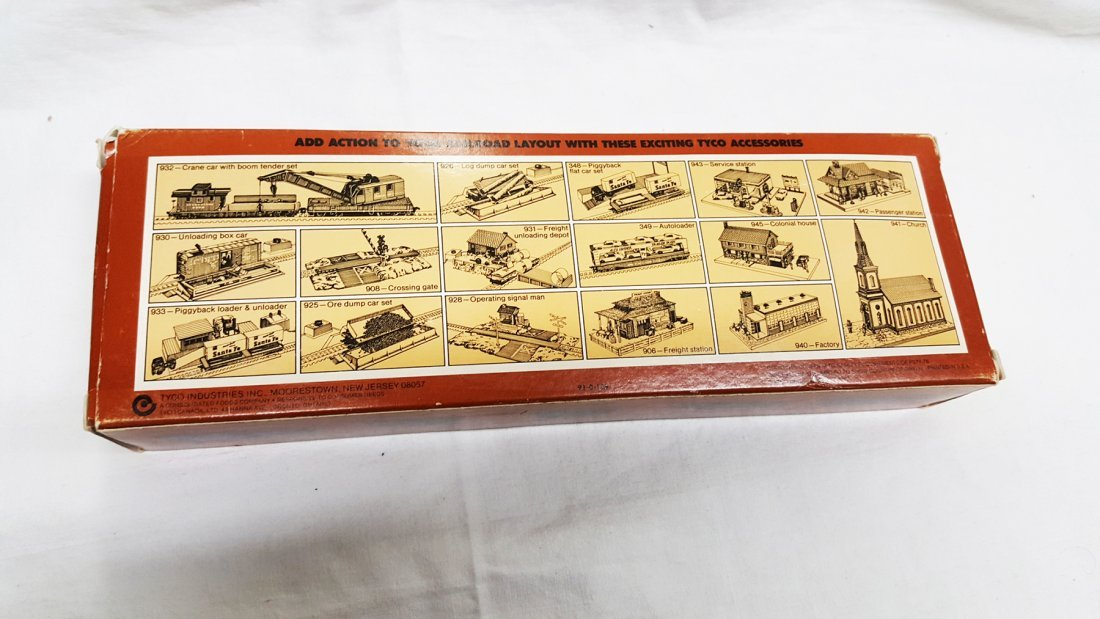 Tyco Western Pacific Train in Box - HO scale - 2