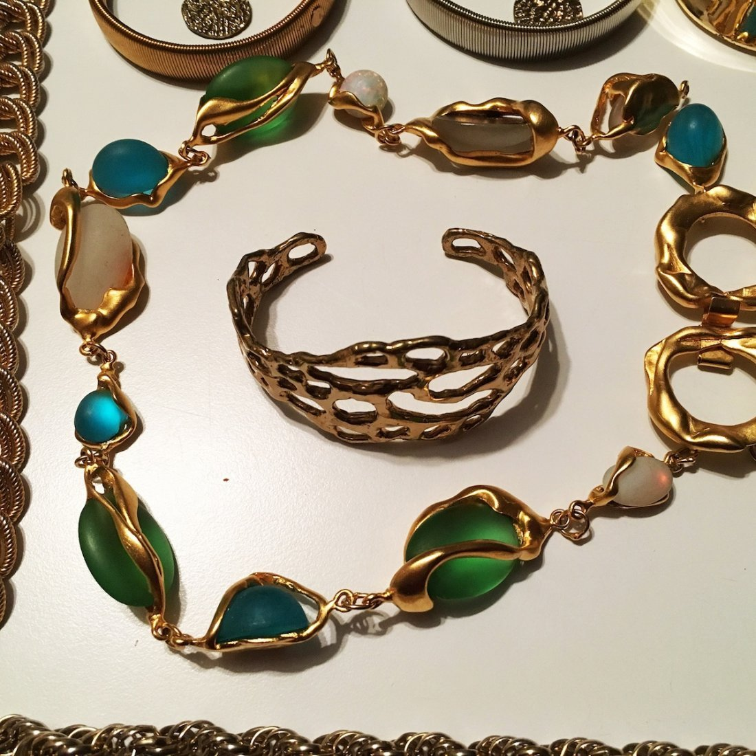 "Costume Jewelry lot, PEM pin ""Friends"" - 2"