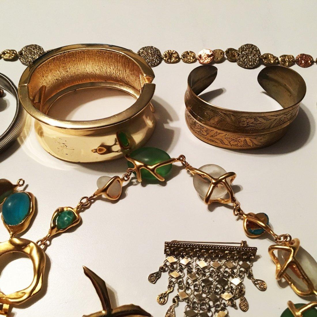 "Costume Jewelry lot, PEM pin ""Friends"" - 4"