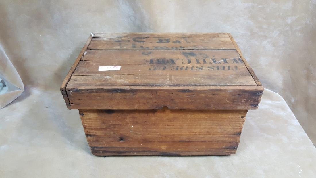 Vintgae Wooden Shipping Crate