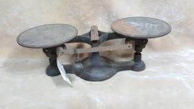 Fairbanks No. 1 Cast Iron Counter Balance Scale
