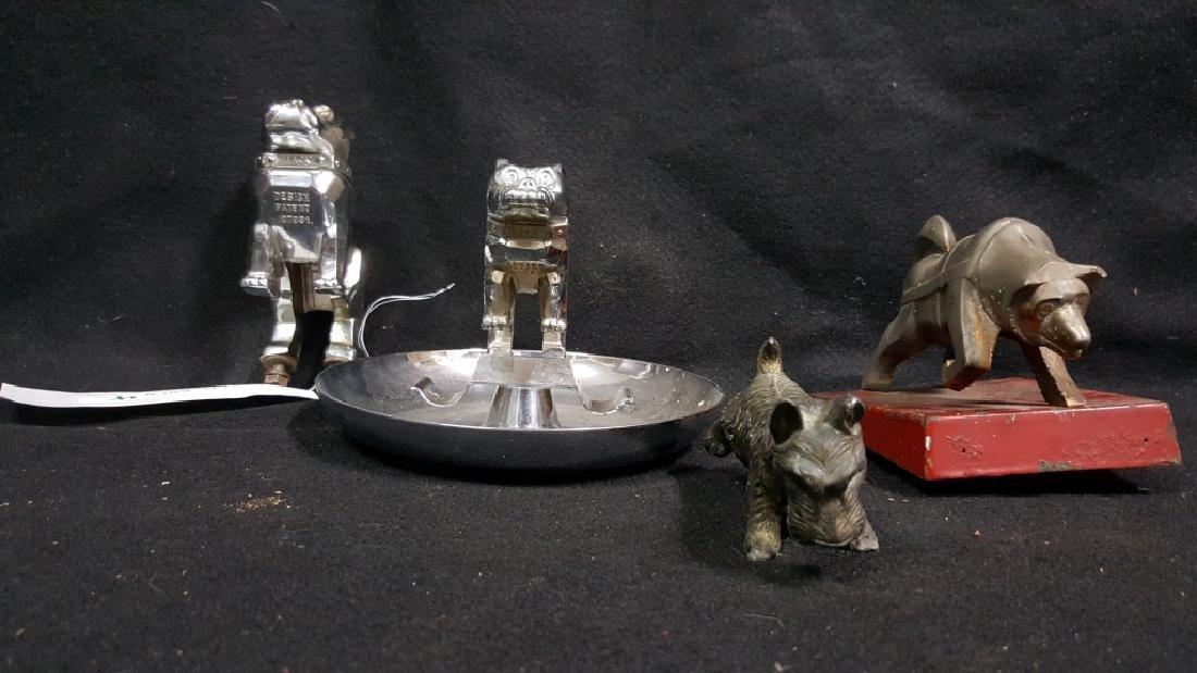 MACK Truck Dog Hood Ornaments