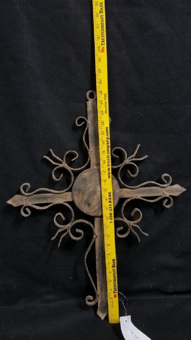 Decorative Iron Cross - 2