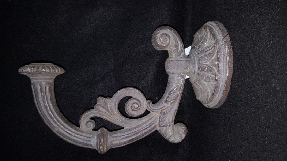 Cast Iron Wall Sconce - 4