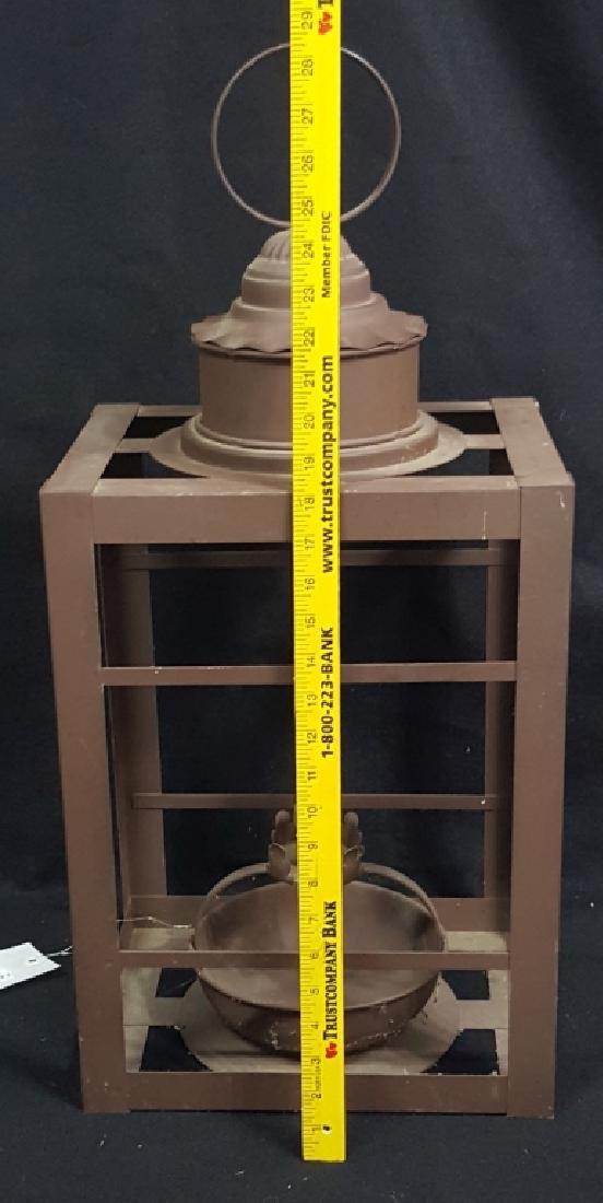 Large Wrought Iron Lantern - 2