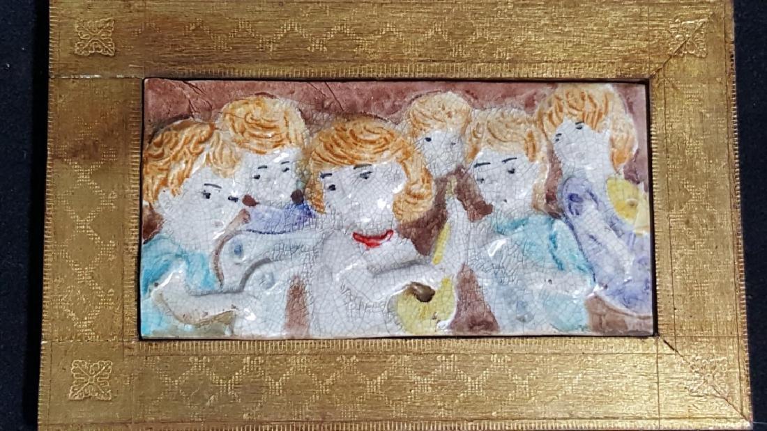 Hutchenreuther Porcelain Plaques & Italian Tile - 5