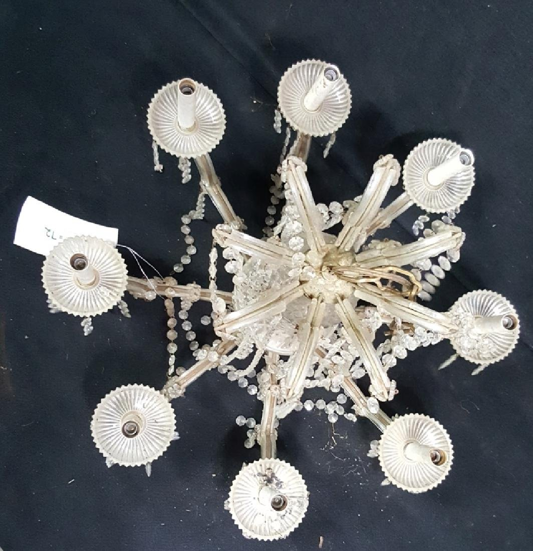 French Bronze & Crystal Chandelier - 2