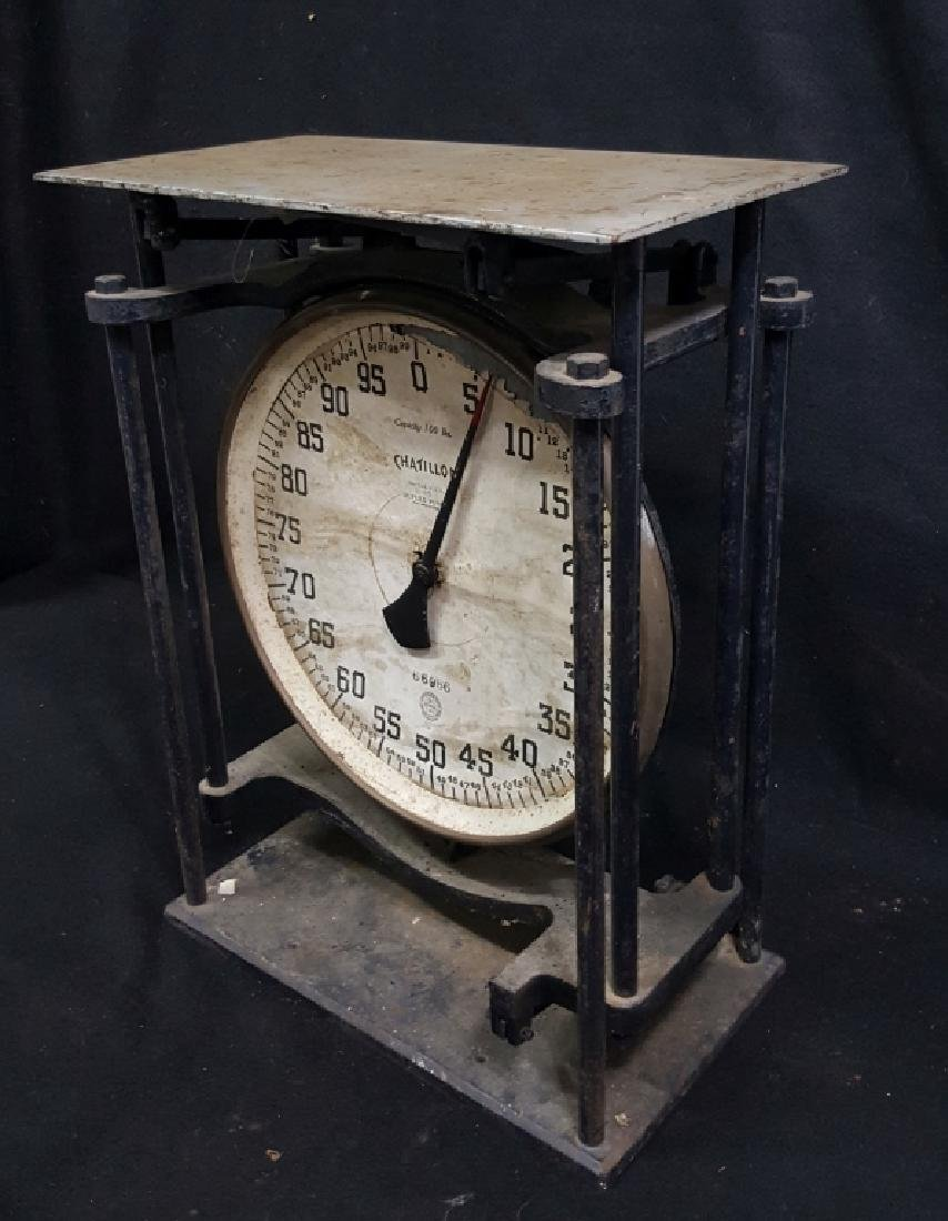 Chatillon 100lb. Duplex Pump Scale - 5