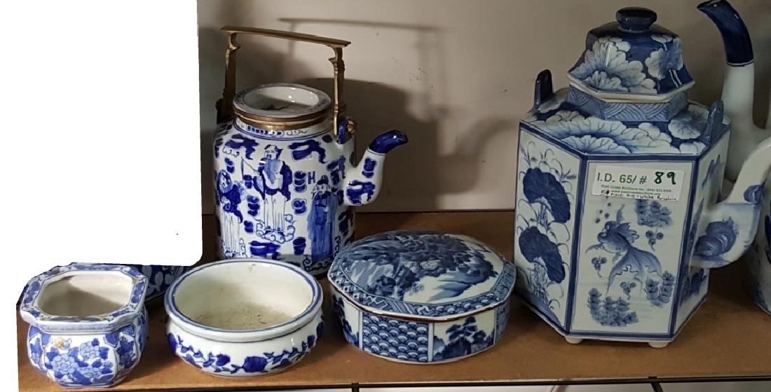 Collection of Blue & White Chinese Porcelain