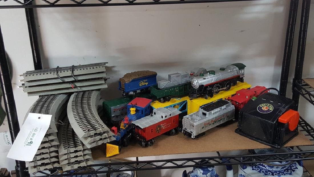 Lionel Tracks and Trains