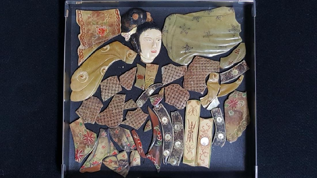 Fragments of a Jade / Stone Chinese Women