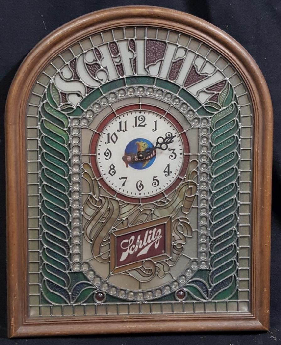 Vintage Schlitz Beer Advertising Clock