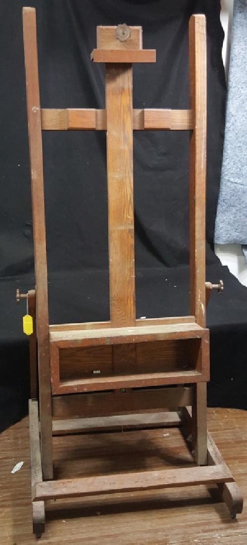 Large Wooden Artist Easel - 2