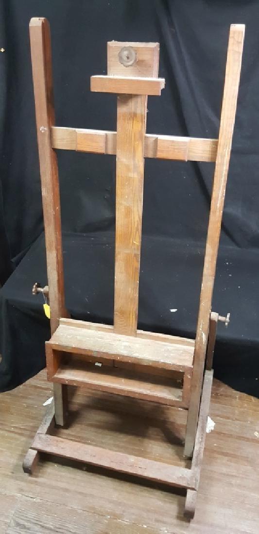 Large Wooden Artist Easel - 3