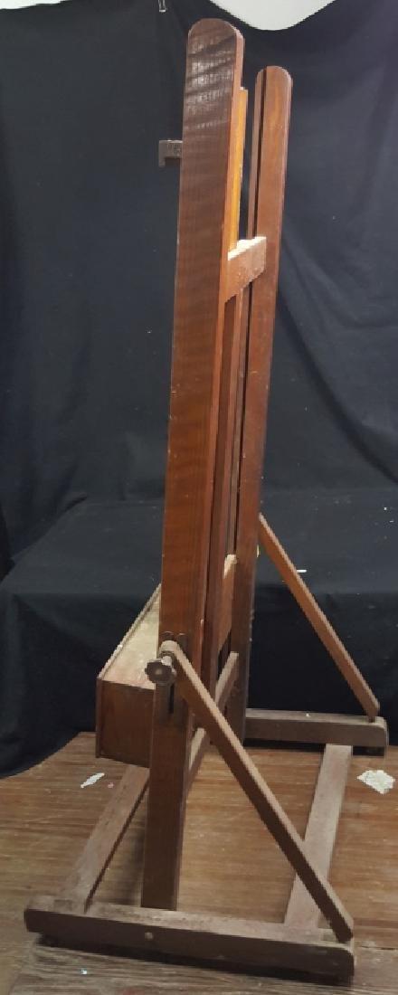 Large Wooden Artist Easel - 4