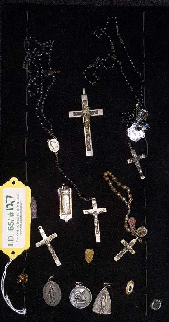 Religious Sterling Silver Collection and others