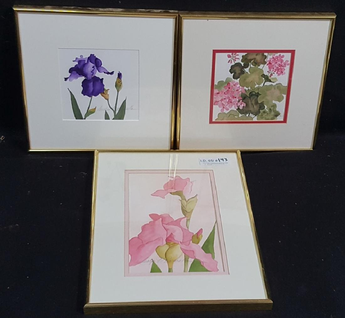Carolyn K Pascarella Floral Watercolor Collection