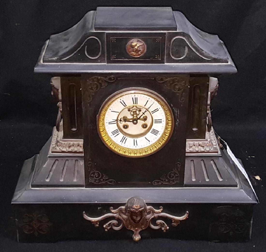 Large Antique Marti & Co Mantle Clock