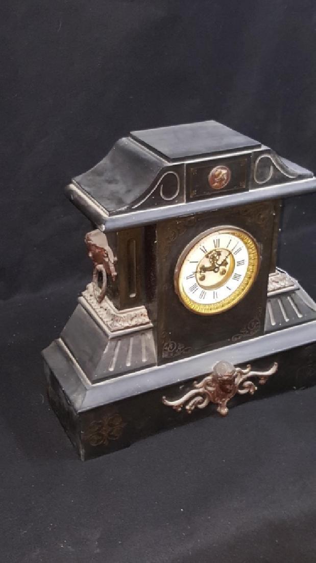 Large Antique Marti & Co Mantle Clock - 2