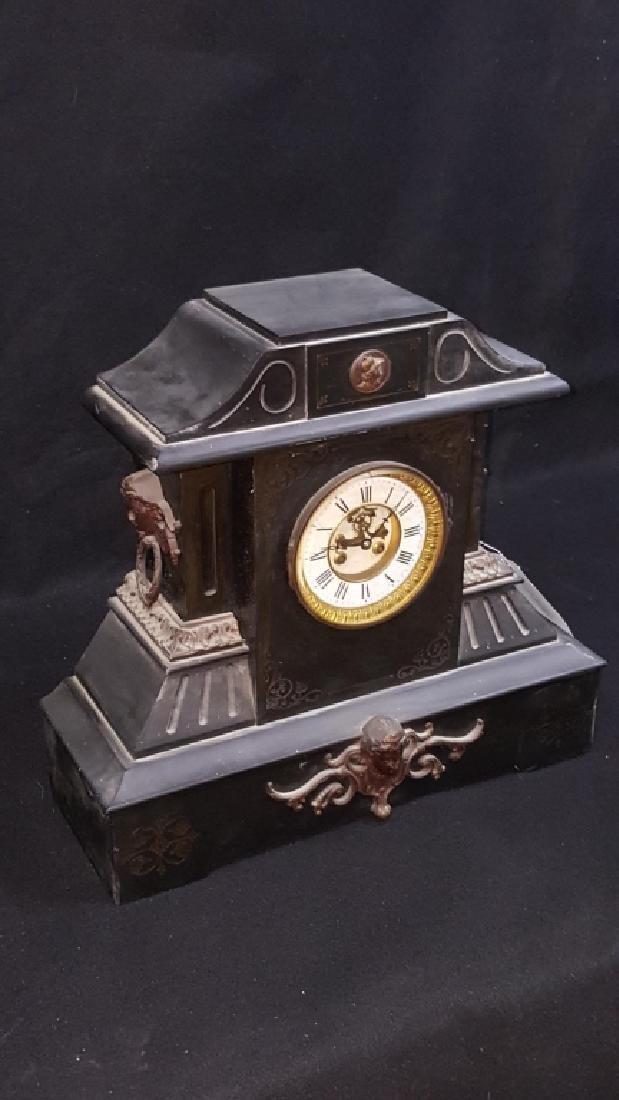 Large Antique Marti & Co Mantle Clock - 3