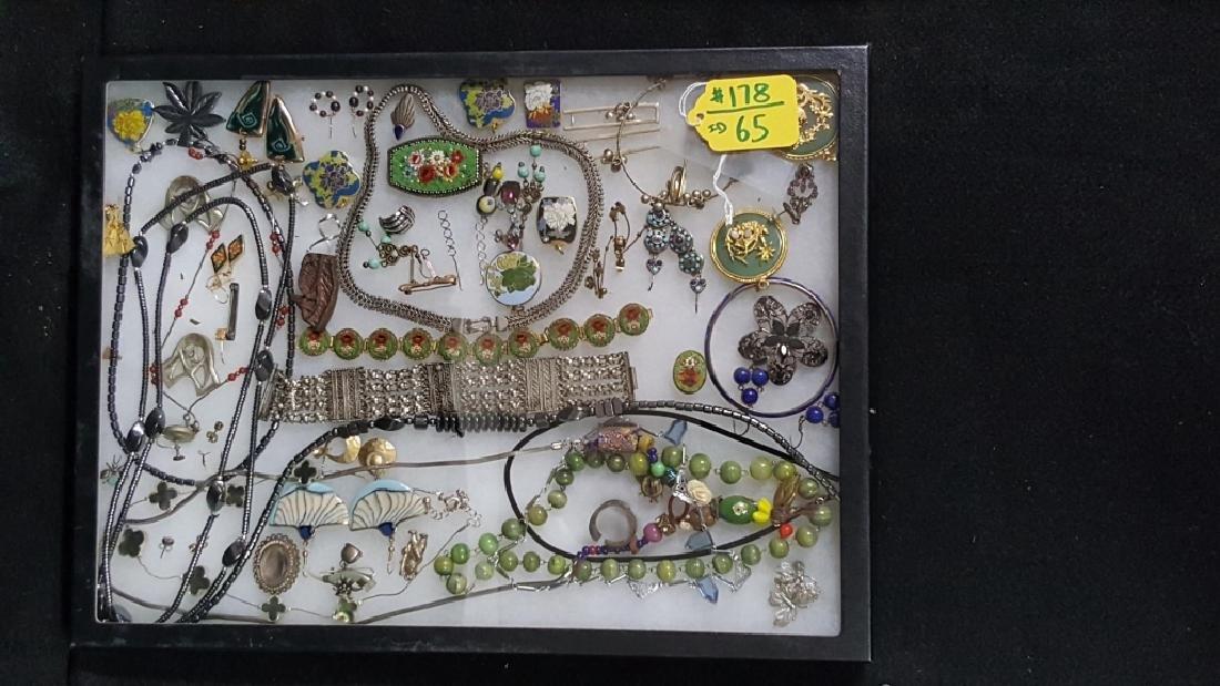 Vintage Costume Hematite & Other Fine Jewelry