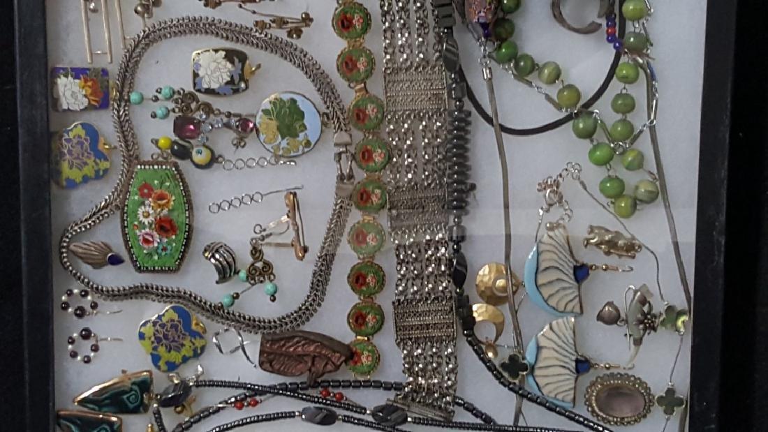 Vintage Costume Hematite & Other Fine Jewelry - 3