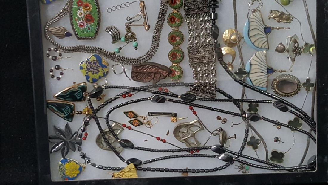 Vintage Costume Hematite & Other Fine Jewelry - 4