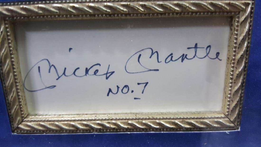 """NY Yankees Mickey Mantle """"The Commerce Comet"""""""