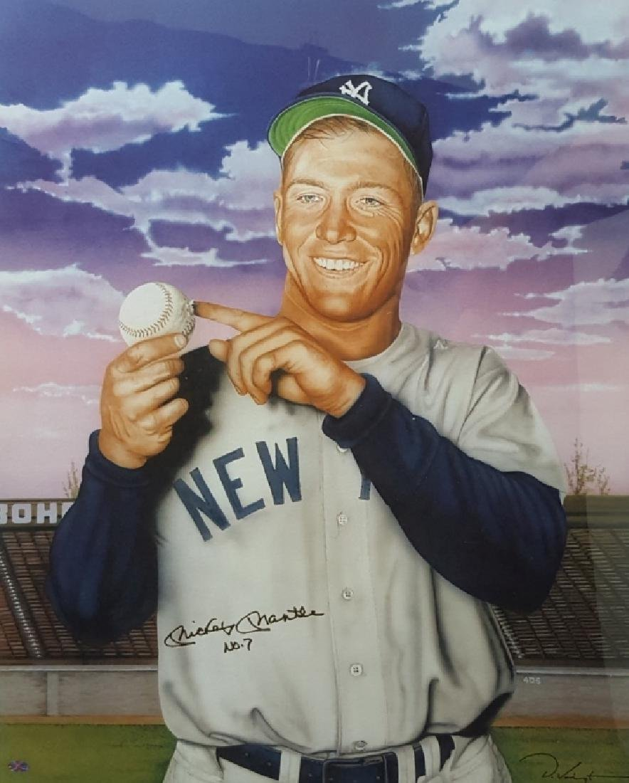 "NY Yankees Mickey Mantle ""The Commerce Comet"" - 3"