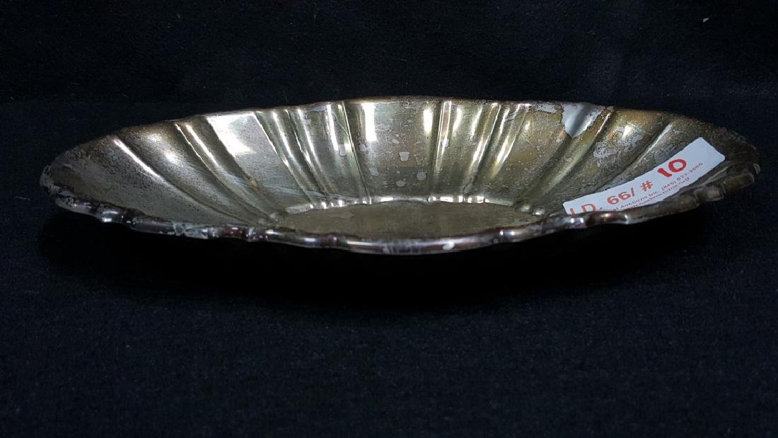 Poole Sterling Silver Fruit / Console Bowl