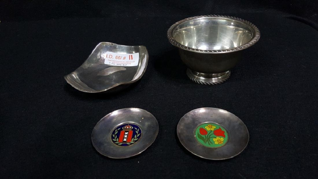 Sterling Silver Bowls & Plates