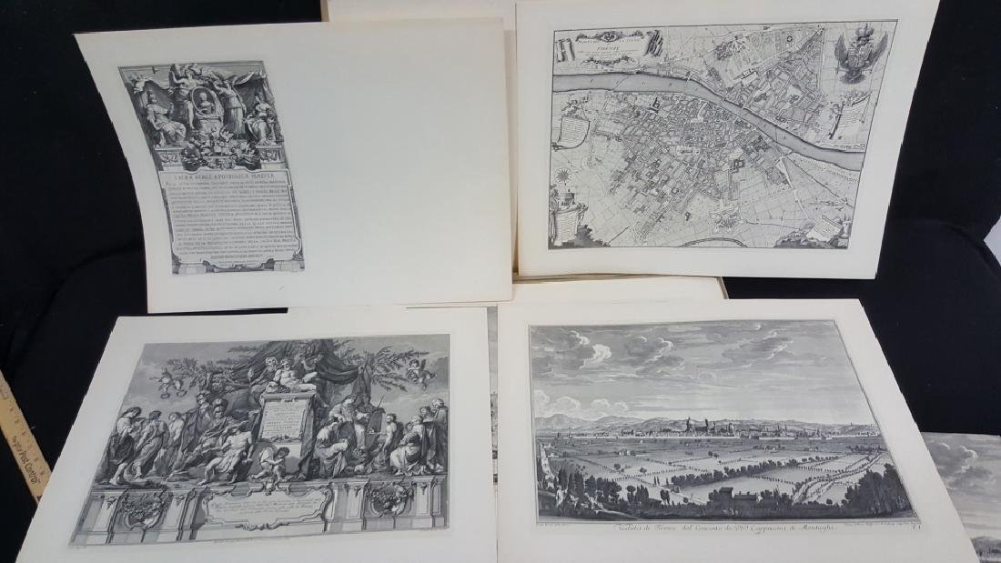Views of Florence Giuseppe Zocchi Etchings