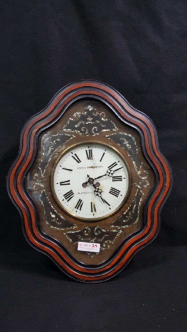 French clock Petit Demandre Chatillons / Seine