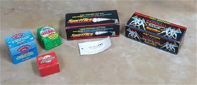 1986 & 87 Sportflics Magic Motion Cards & More